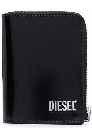 Diesel Logo-print leather wallet
