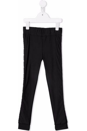 Fendi Girls Leggings - Stitch-detail leggings