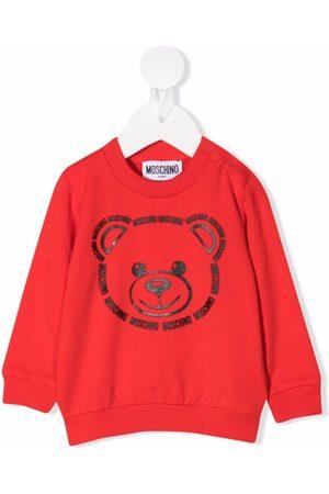 Moschino Teddy bear-print jumper