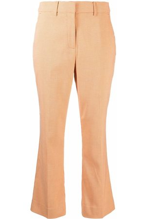 Holzweiler Cropped bell-flare trousers