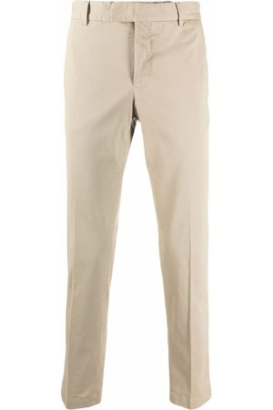 PT01 Slim-fit tailored trousers - Neutrals