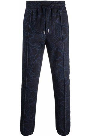 Etro Men Straight Leg Pants - All-over pattern trousers