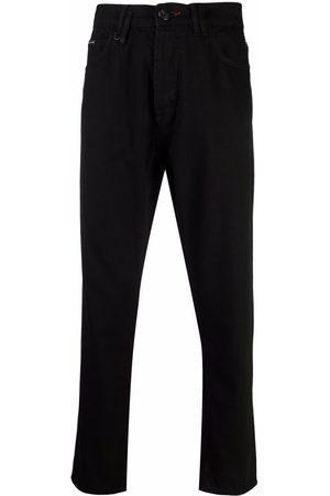 Philipp Plein Men Sweatpants - Logo-patch detail trousers
