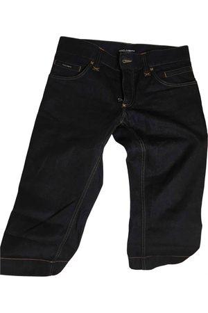 Dolce & Gabbana Navy Cotton Jeans