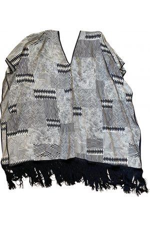 FORTE FORTE Silk poncho