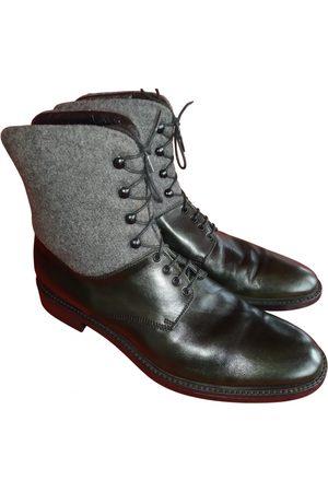 Ermenegildo Zegna Multicolour Leather Boots