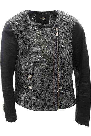 Maje Wool Leather Jackets