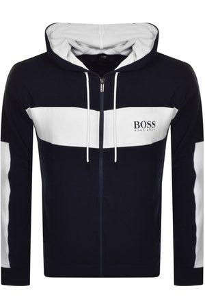 HUGO BOSS BOSS Bodywear Lounge Full Zip Hoodie Navy