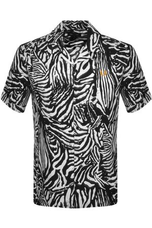 Fred Perry Zebra Print Revere Shirt