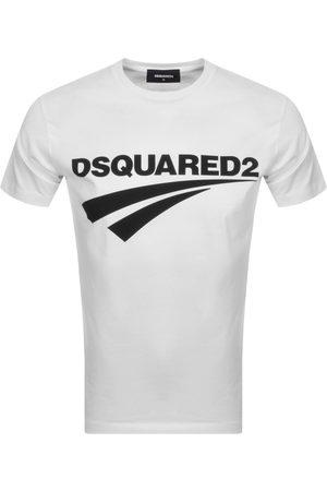 Dsquared2 Men Short Sleeve - Logo Short Sleeved T Shirt