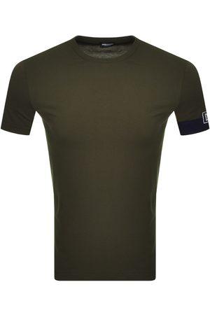 Dsquared2 Men Short Sleeve - Logo Sleeve T Shirt