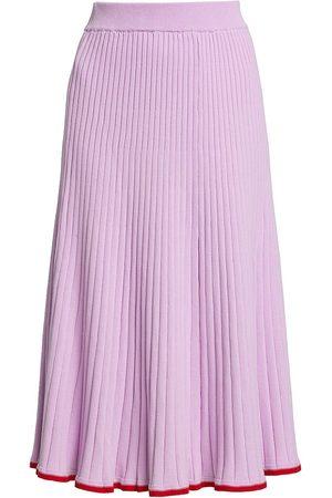 Anna Quan Women Skirts & Dresses - Women's Felicia Rib-Knit Skirt - Orchid - Size 4
