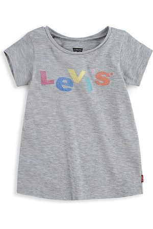 Levi's Short Sleeve - Baby Girl's Short Sleeve Graphic T-Shirt - Grey - Size 18 Months