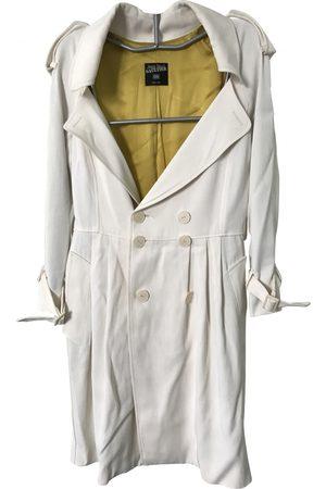 Jean Paul Gaultier Ecru Synthetic Trench Coats