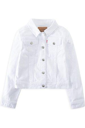 Levi's Girls Denim Jackets - Little Girl's Denim Trucker Jacket - - Size 6