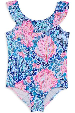 Lilly Pulitzer Little Girl's & Girl's One-Piece Swimsuit - Size 7