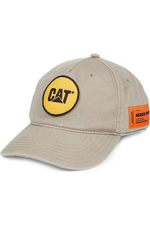 Heron Preston Men Caps - Men's x Caterpillar Patch Baseball Cap - Taupe
