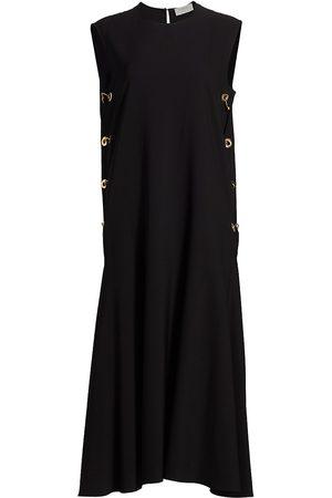 Max Mara Women's Flavio Virgin Wool Sleeveless Dress - - Size 6