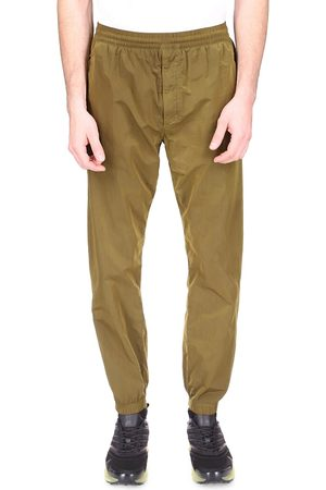 Givenchy Men's Garment Dye Embroidered Joggers - Bottle - Size 44