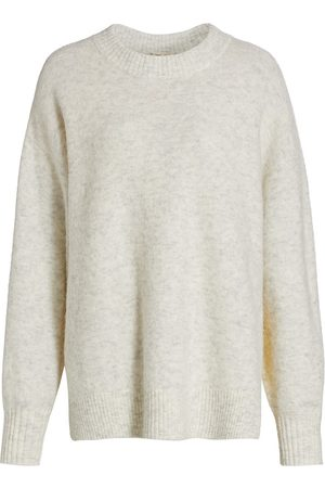 Baum und Pferdgarten Women Sports Hoodies - Women's Coastal Communities Cea Wool-Blend Sweater - Grey - Size Medium