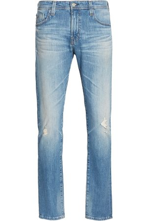 AG Jeans Women's Dylan Straight-Leg Jeans - 18 Years Hitch Hiker - Size 36