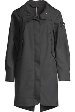 Peutery Women Trench Coats - Women's Big Star Trench Coat - Navy - Size XXL