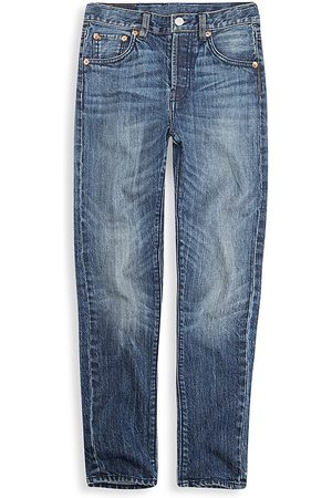 Levi's Girl's 501® Skinny Jeans - Super Charger - Size 14