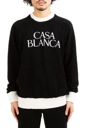Casablanca Men Sweatshirts - Men's Grand Prix Terry Colorblock Embroidered Sweatshirt - - Size XL