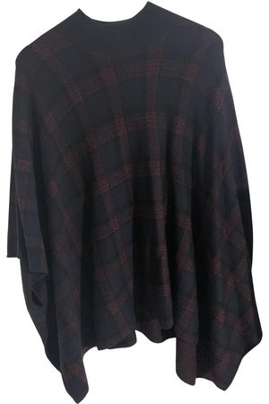 THEORY Wool poncho