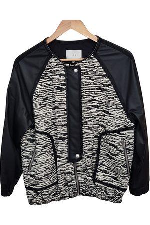 IRO Ecru Leather Leather Jackets