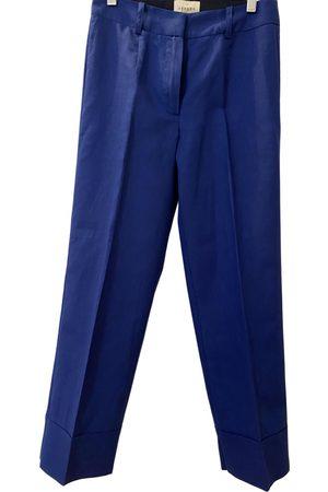 Sézane Women Straight Leg Pants - Spring Summer 2019 linen straight pants