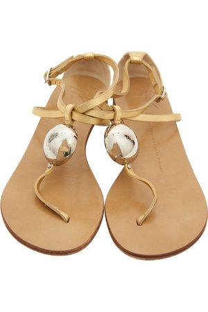 Giuseppe Zanotti Women Sandals - Leather sandals