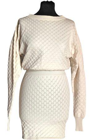 Irfé Ecru Cotton Dresses