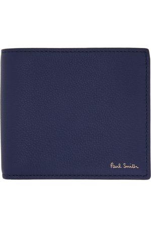 Paul Smith Men Wallets - Indigo Signature Stripe Interior Billfold Wallet