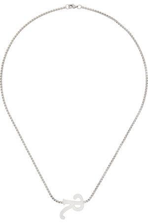 Raf Simons R' Pendant Necklace
