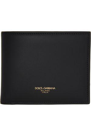 Dolce & Gabbana Black Logo Bifold Wallet