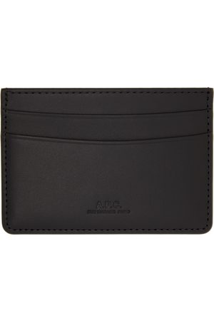 A.P.C. Men Wallets - Black André Card Holder