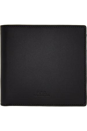 A.P.C. Men Wallets - Black New London Wallet