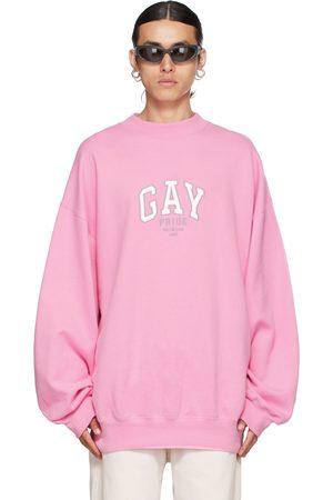 Balenciaga Pink 'Pride' Sweatshirt