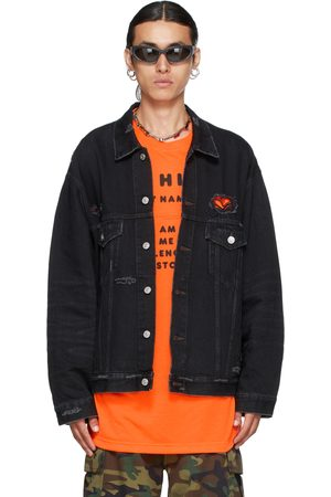 Balenciaga Black Japanese Denim Jacket