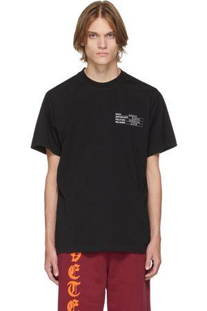 Vetements Human Identity T-Shirt