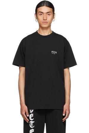 VETEMENTS Men T-shirts - Definition 'Fuck' T-Shirt