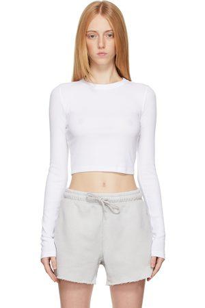 COTTON CITIZEN Women Long Sleeve - Verona Crop Long Sleeve T-Shirt