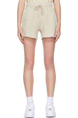 COTTON CITIZEN Women Shorts - Beige Brooklyn Shorts