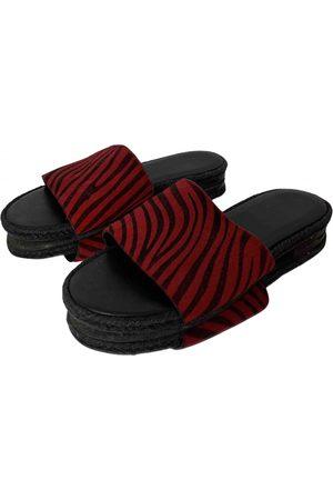 Haider Ackermann Pony-style calfskin Sandals