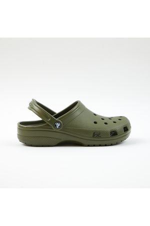 Crocs Men Sandals - Khaki Rubber Sandals