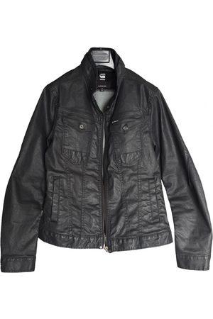 G-Star Anthracite Cotton Jackets