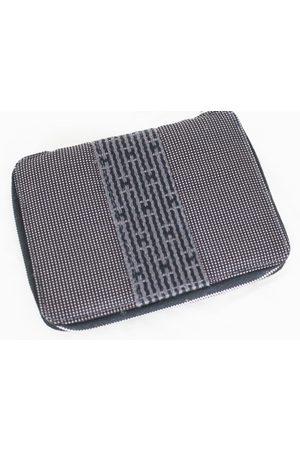 Hermès Grey Cloth Small Bags\, Wallets & Cases