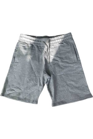 Kenzo Grey Cotton Shorts