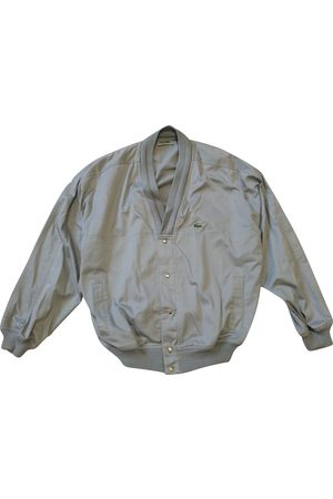 Lacoste Grey Polyester Jackets